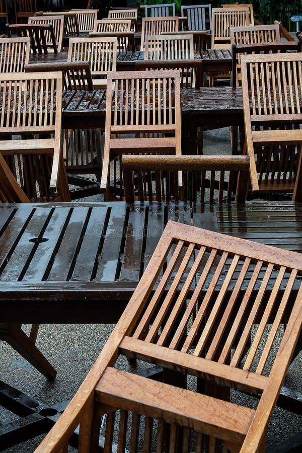 Patternof chairs stock image