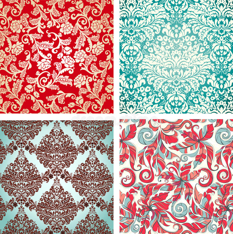 Download Patterns stock vector. Image of ornamental, creative - 10241420