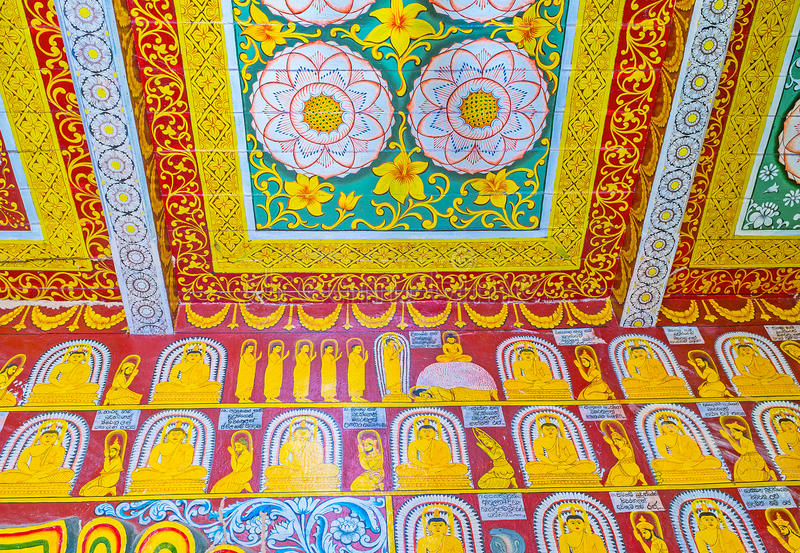 the patterns in buddhist temple editorial photography image of
