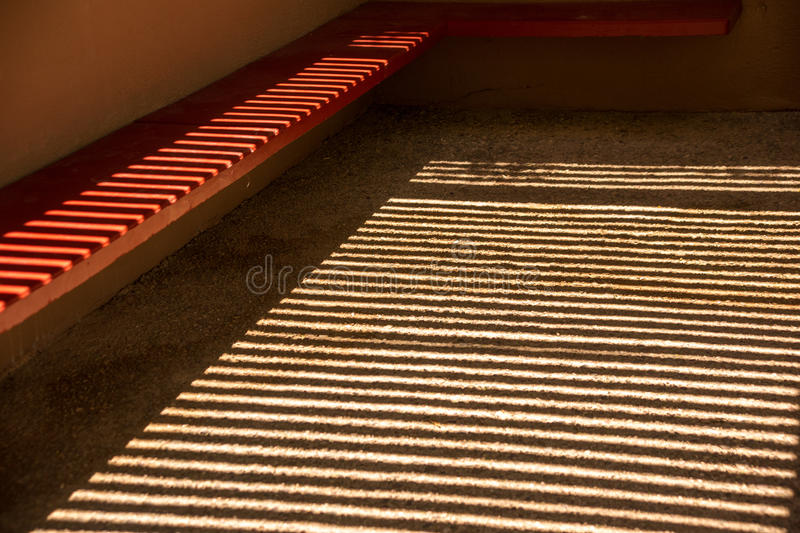 Patterns in the Desert Shade stock photography