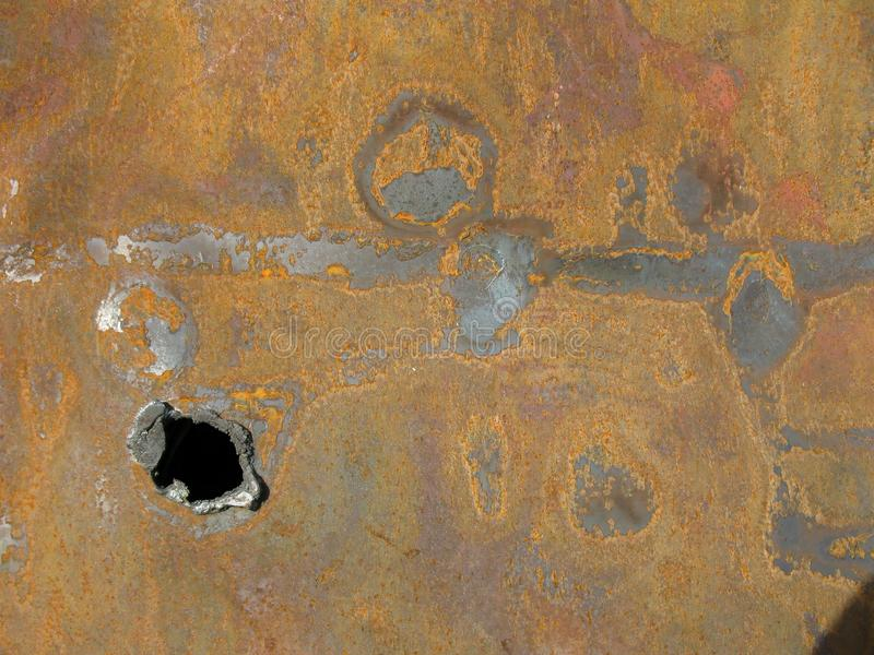 Patterns in rust royalty free stock photos
