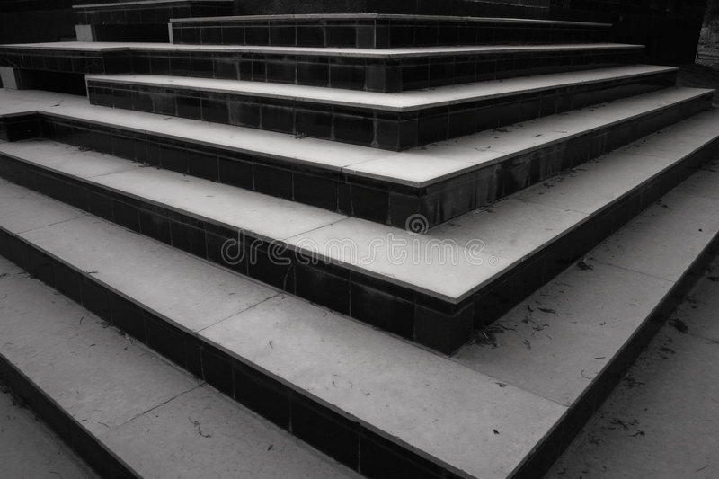 Patterns and shapes, steps and stairs royalty free stock photos