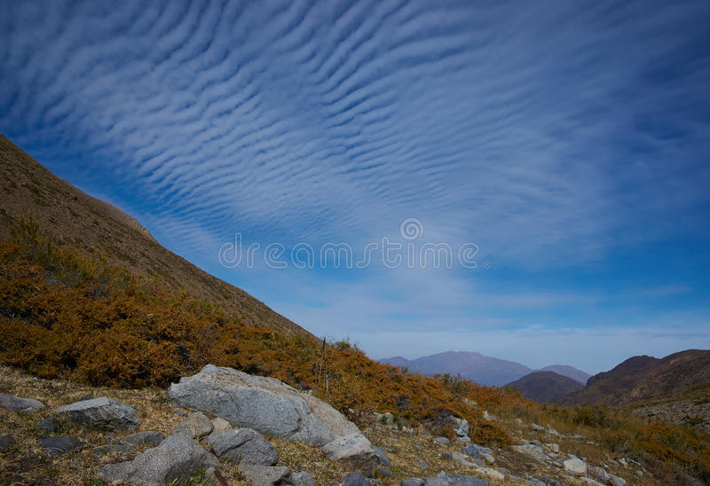 Patterns in the Sky royalty free stock photo