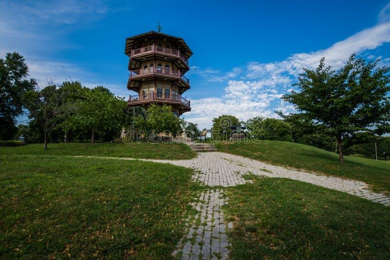 Patterson parka pagoda w Baltimore, Maryland obraz royalty free