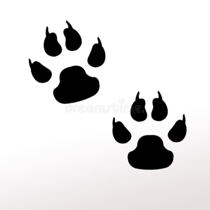 Pattes animales illustration libre de droits