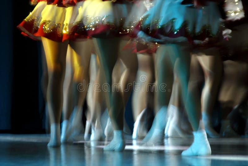 Pattes de danse images libres de droits