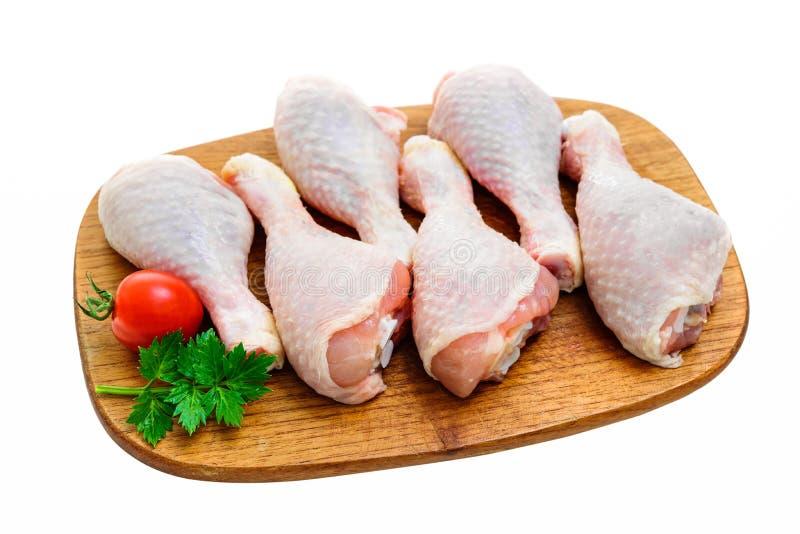 Pattes de poulet crues photos libres de droits