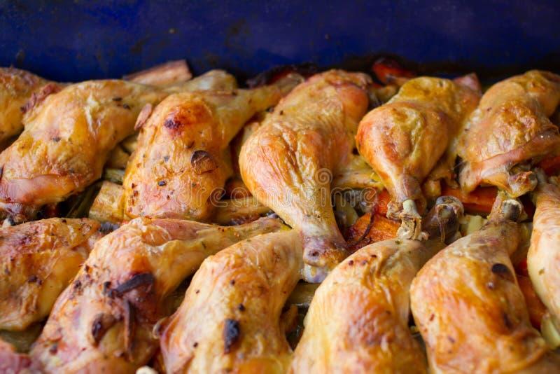 Download Pattes De Poulet Cuites Au Four Image stock - Image du horizontal, cuisine: 77155501