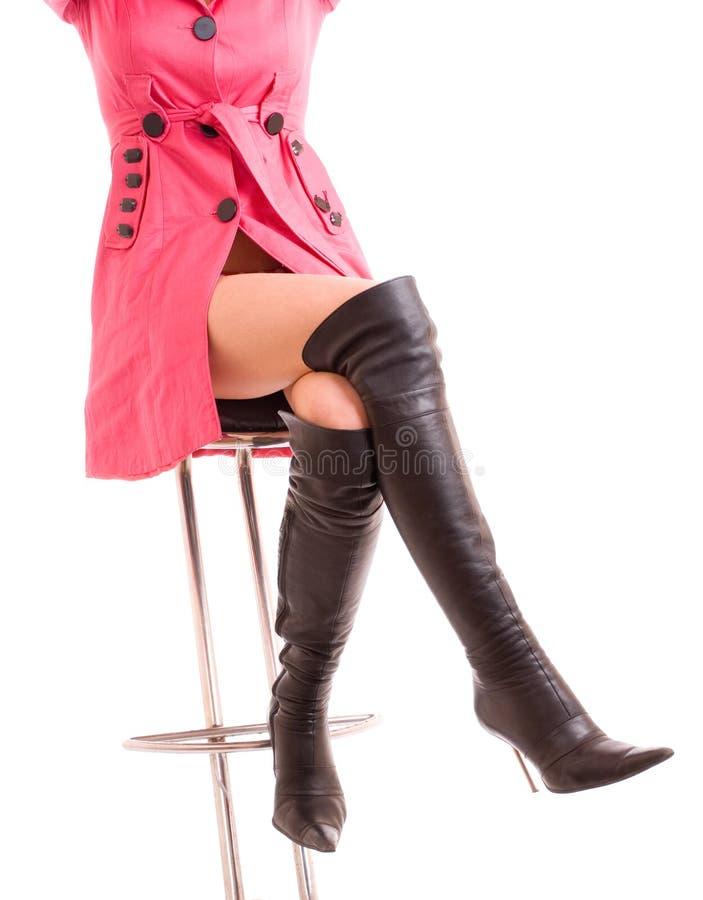 pattes femelles élégantes image stock
