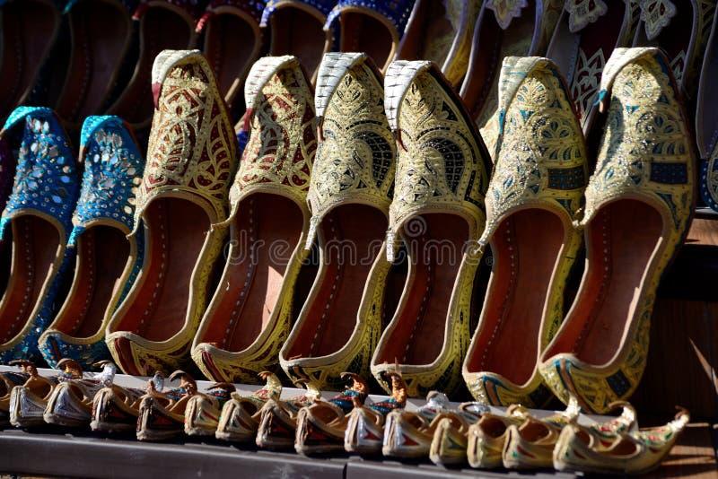 Pattini arabi tradizionali immagini stock