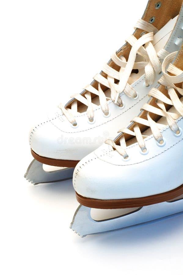 Download Pattini bianchi immagine stock. Immagine di boots, accoppiamento - 7323523