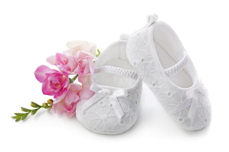 Pattini della neonata immagine stock