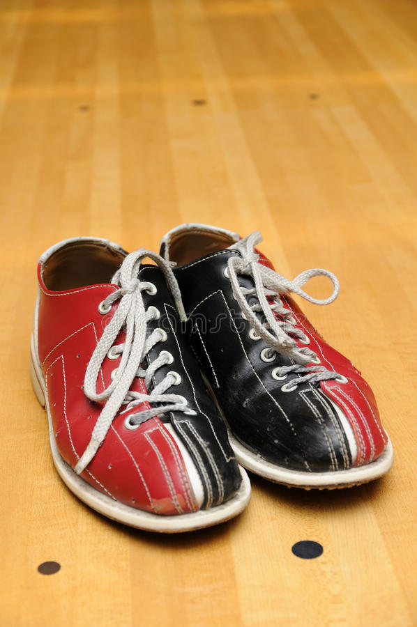Pattini di bowling fotografie stock