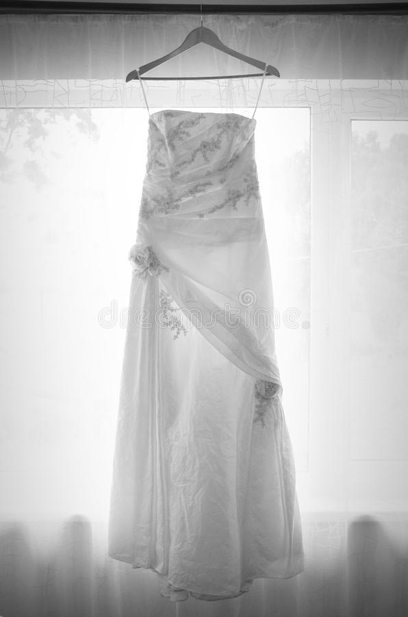 Pattini di cerimonia nuziale fotografia stock libera da diritti