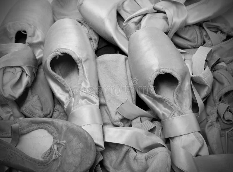 Pattini o pistoni di balletto immagini stock