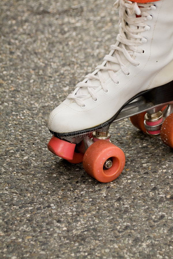 Pattini pattinare di rullo fotografie stock libere da diritti