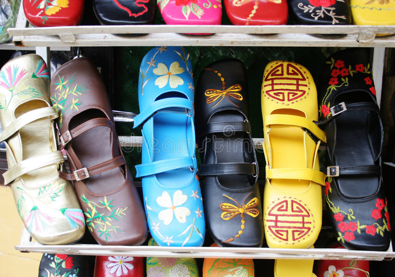 Pattini vietnamiti Handmade fotografia stock libera da diritti