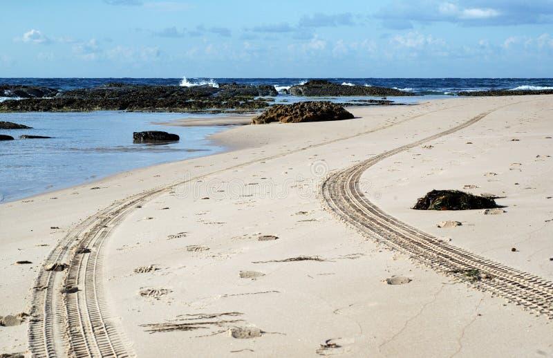 Pattuglia della spiaggia fotografia stock