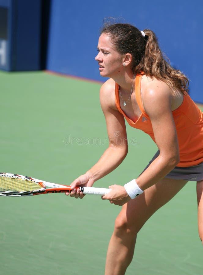 Patty Schnyder, de Professionele Speler van het Tennis royalty-vrije stock foto