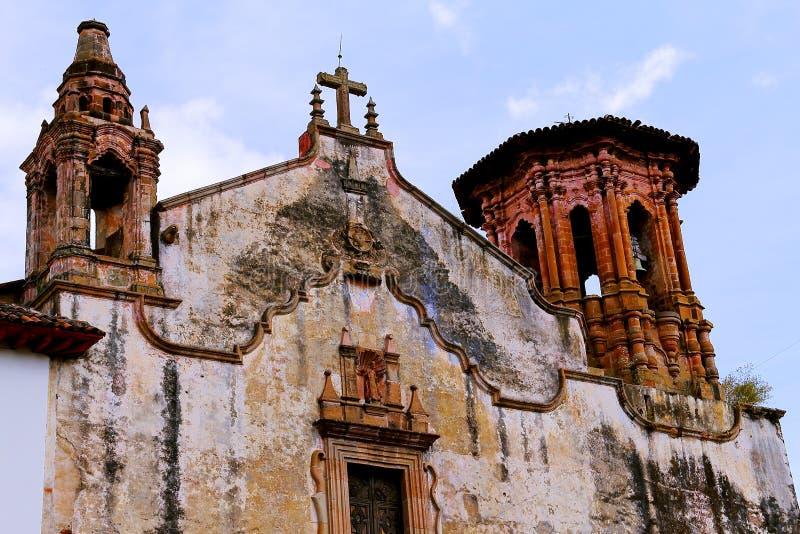 patzcuaro的II圣阿古斯丁前女修道院 免版税库存图片
