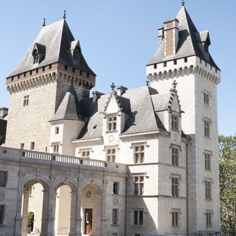 Pau Castle imagens de stock royalty free