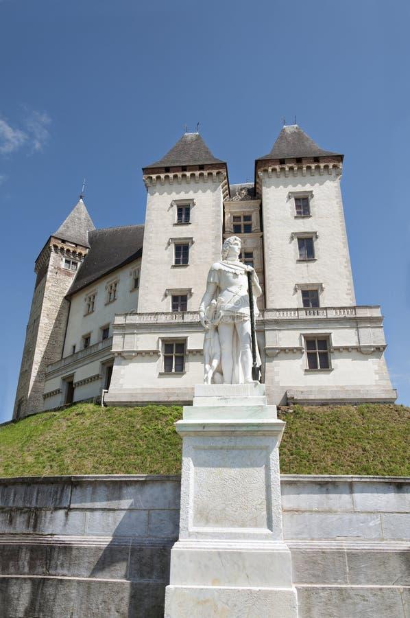 Pau Castle immagini stock libere da diritti