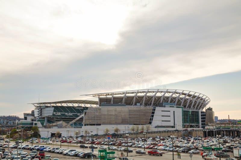Paul Brown Stadium à Cincinnati, Ohio photo stock