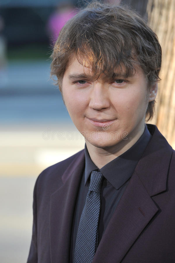 Paul Dano royalty-vrije stock foto