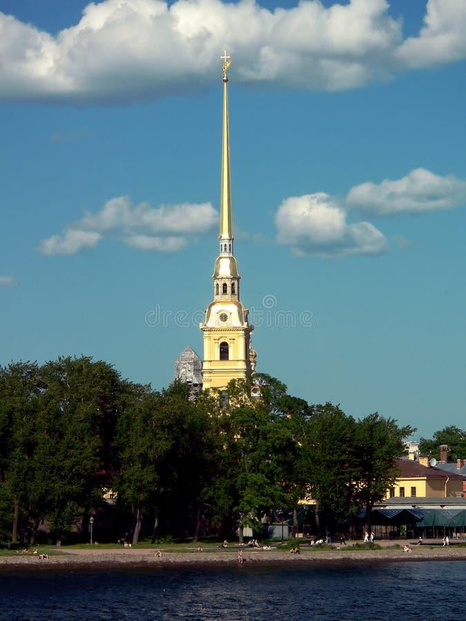 Paul fortecy Rosji st Peter. obrazy royalty free