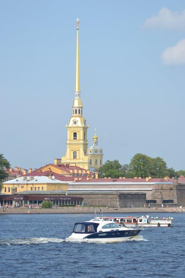paul forteczny st Peter Petersburg zdjęcia stock