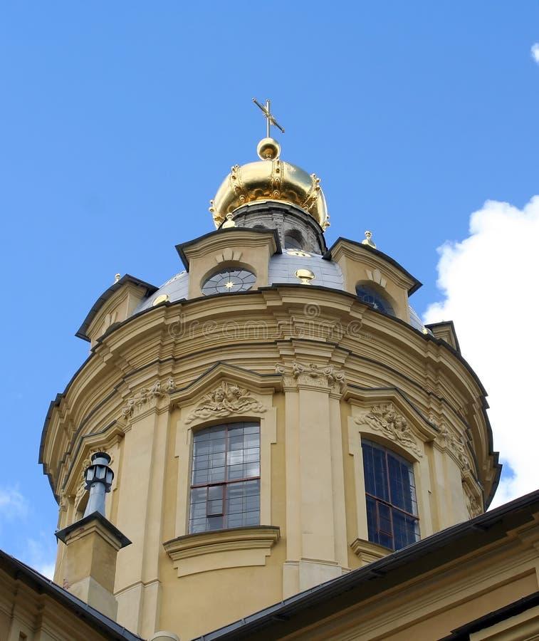 Paul katedralny Rosji st Peter. zdjęcie stock