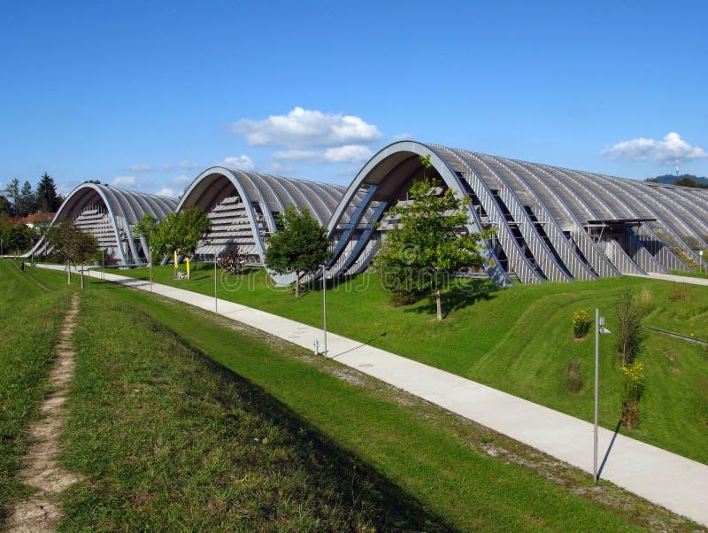 Paul Klee Zentrum, Bern, Zwitserland royalty-vrije stock afbeeldingen
