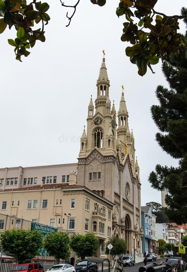 paul kościelni święty Peter obrazy stock