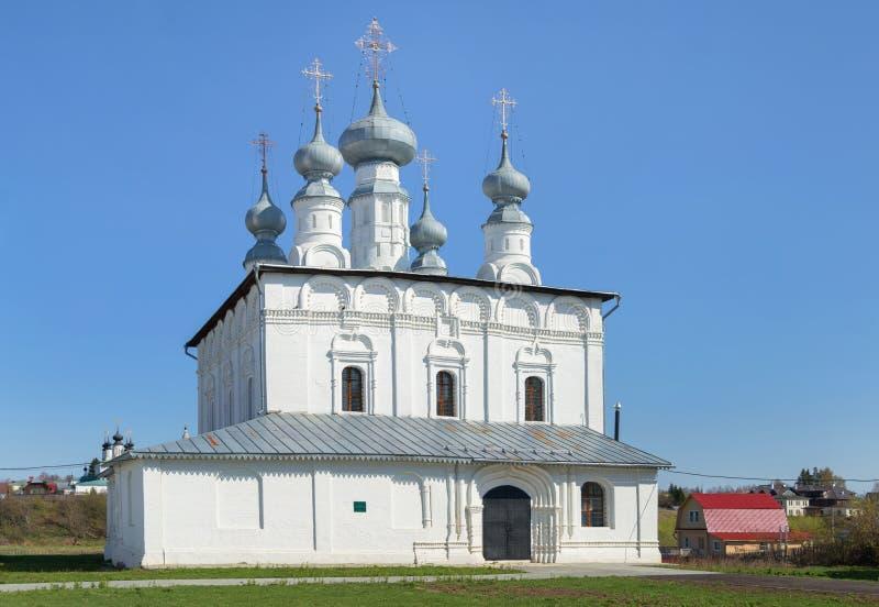 Paul ko?cielne ?wi?ta Petera Suzdal, Vladimir region, Rosja zdjęcie royalty free