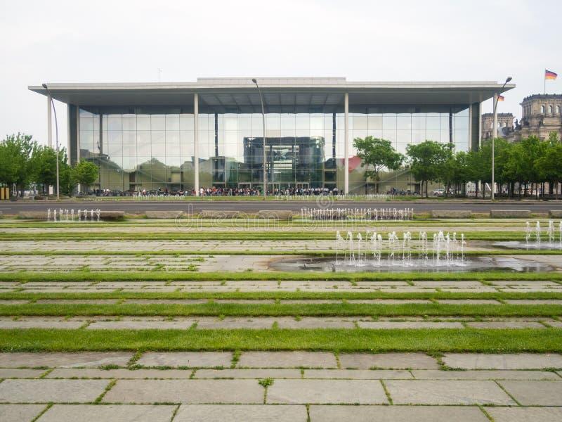 Paul Lobe Haus è una costruzione legislativa a Berlino fotografia stock