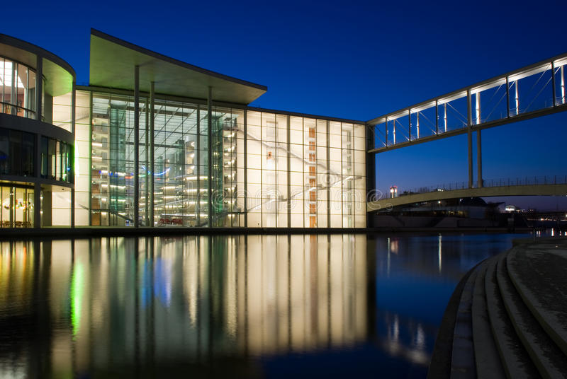 Paul-Lobe-Haus de Berlin photo libre de droits
