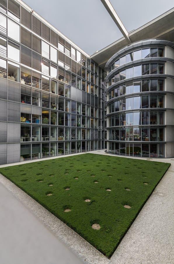 Paul Loebe Haus Parliamentary Office-Gebäude in Berlin lizenzfreie stockfotografie