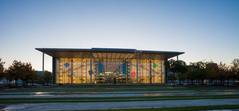 Paul Loebe House, parte del Bundestag fotografia stock libera da diritti