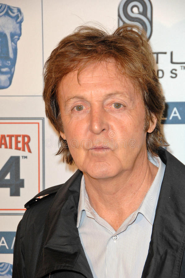 Paul McCartney   royaltyfri fotografi