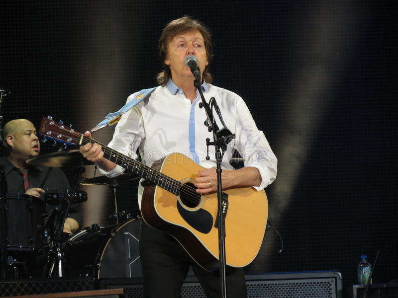 Download Paul McCartney Live In Vienna 2013 Editorial Photo