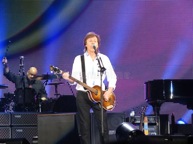 Paul McCartney Live In Vienna 2013 Editorial Stock Photo
