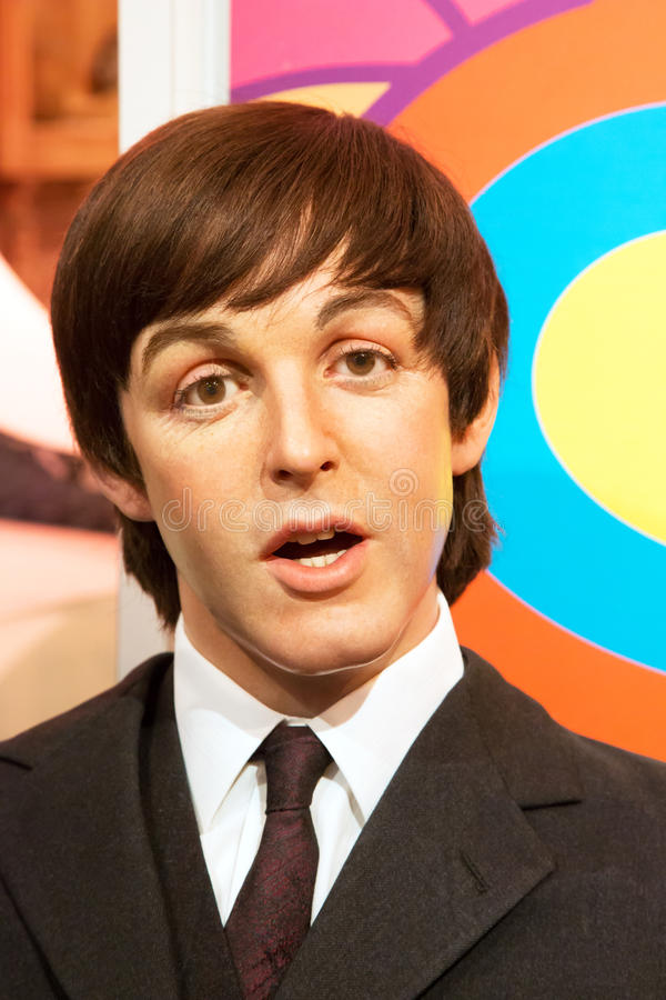 Download Paul McCartney In Madame Tussauds Of London Editorial Photography