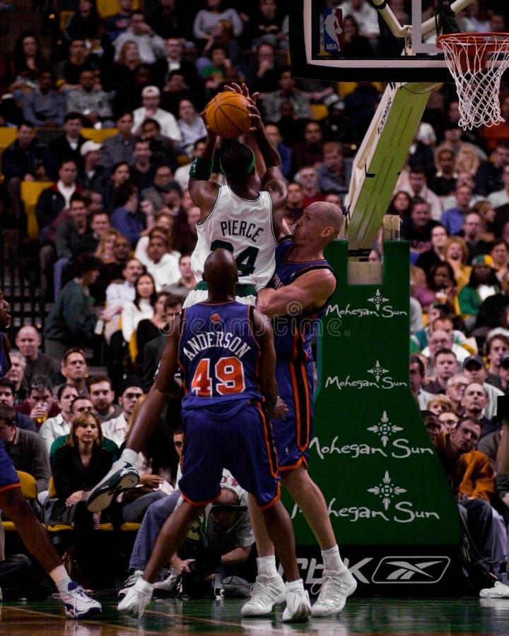 Paul Pierce, Boston Celtics immagine stock libera da diritti