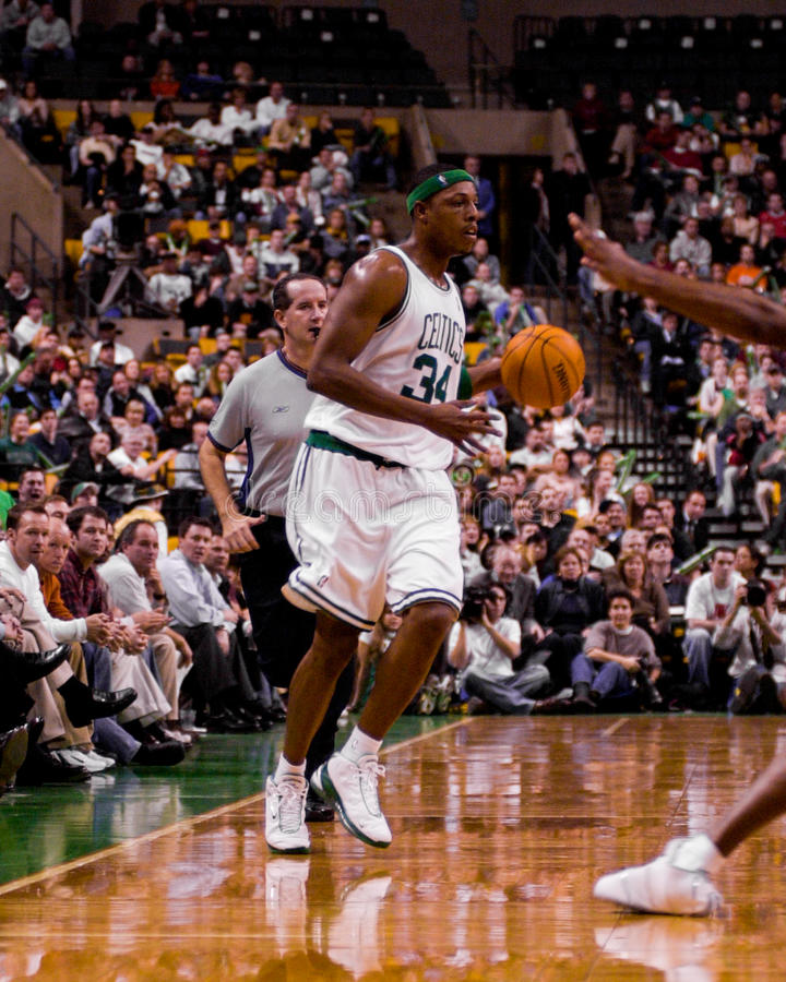 Paul Pierce, Boston Celtics immagine stock