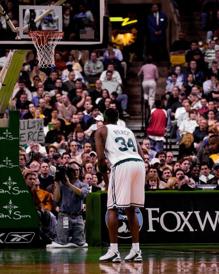 Paul Pierce, Boston Celtics fotografia stock