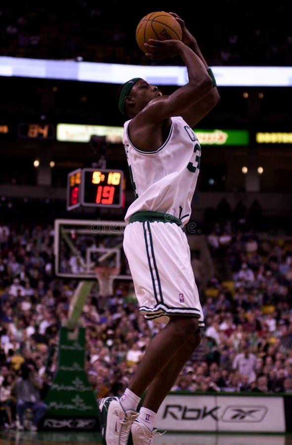 Paul Pierce, Boston Celtics immagini stock libere da diritti