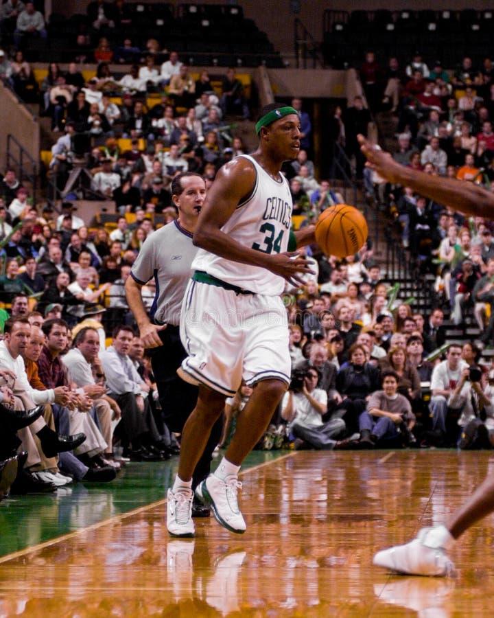 Paul Pierce, Celtics de Boston imagen de archivo