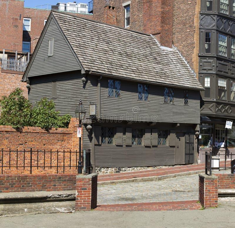 Paul Revere House. The famous Paul Revere's House in Boston, Massachusetts, USA