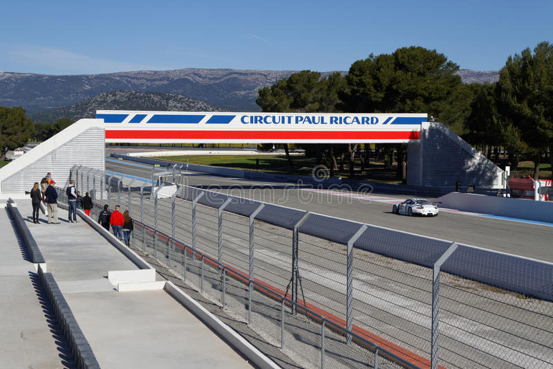 Paul Ricard High Tech Test Track imágenes de archivo libres de regalías