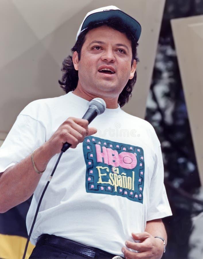 Paul Rodriguez au Festival de Comédie de Toyota images stock
